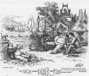 Thomas Nast Rich get Richer