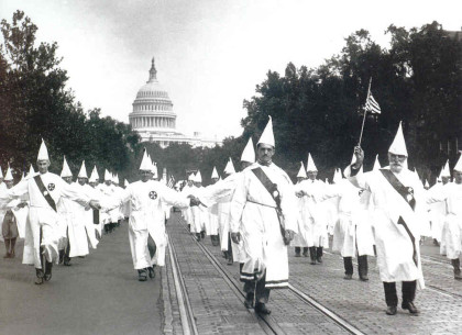 Klan marching in DC