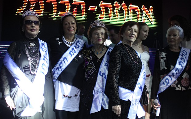 Miss Holocaust Survivor beauty pageant