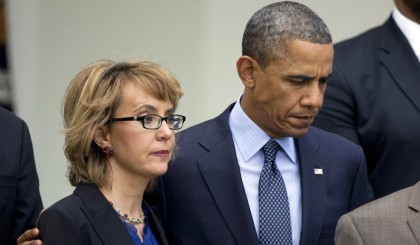 Obama and Giffords