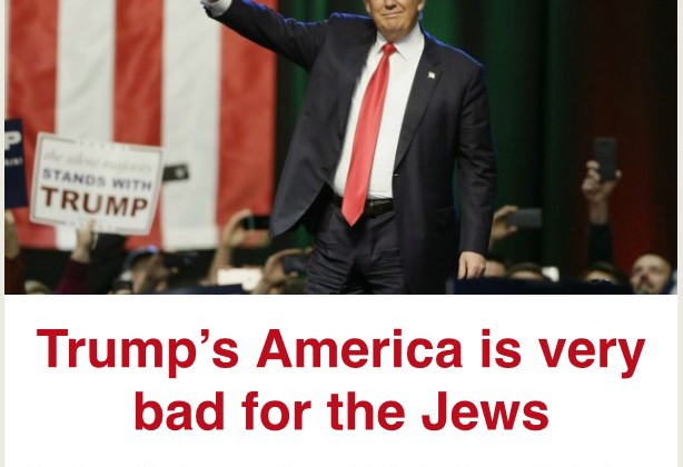 Trump Bad for Jews