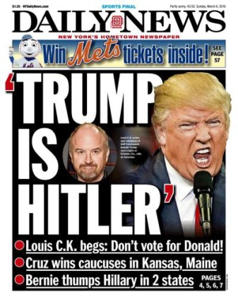 Trump Hitler comparison