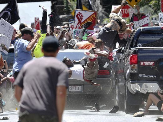 Unite the Right car crash