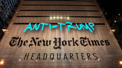 Media Watchdog Group Catches Shocking NYT Admission on Tape