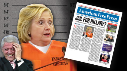 Jail for Hillary