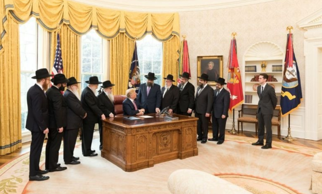 Trump meets with Chabad 2
