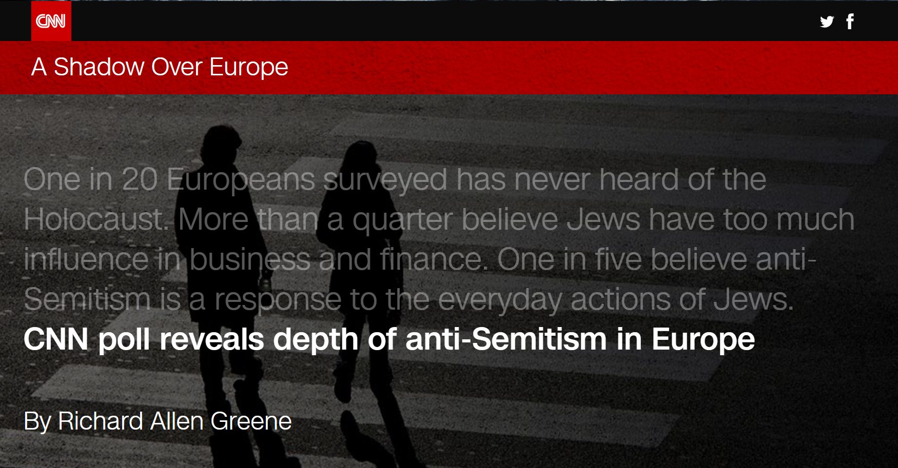 CNN Anti-Semitism