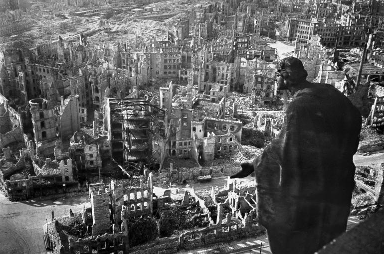 The Western Allies engaged in a vicious firebombing campaign of Germany during WWII at the behest of organized Jewry.
