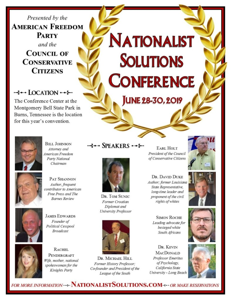 Nationalist Solutions Conference