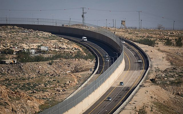In Israel, a road system with a literal apartheid wall was designed and built to separate the Israelis from the Palestinians.