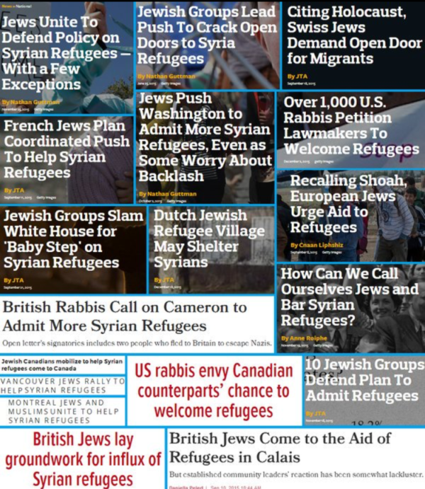 Jewish news outlets open report on these facts. See the News from the Jews section for more.